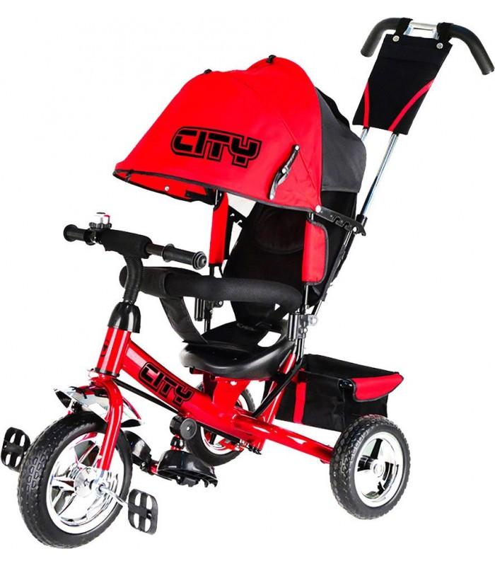 Велосипед Trike City JD7RS красный
