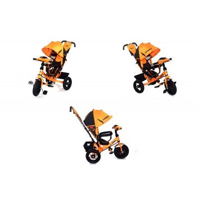Велосипед Favorit с надувными колесами оранжевый