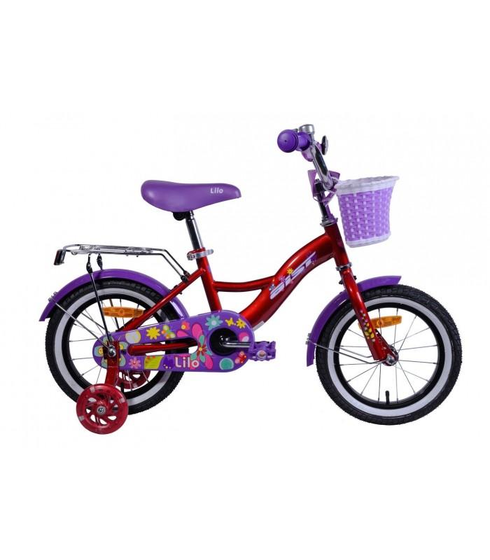 Велосипед Aist Lilo 14 (красный)