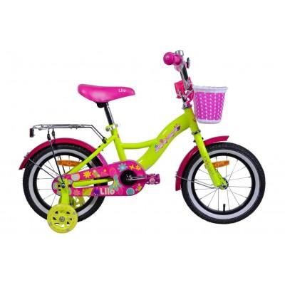 Велосипед Aist Lilo 14 (желтый)