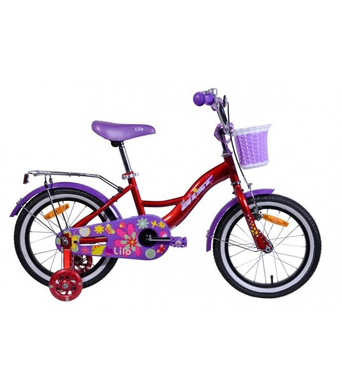 Велосипед Aist Lilo 16 (красный)