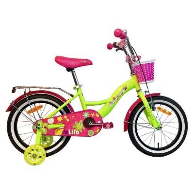 Велосипед Aist Lilo 16 (желтый)