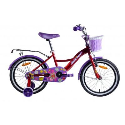 Велосипед Aist Lilo 18 (красный)