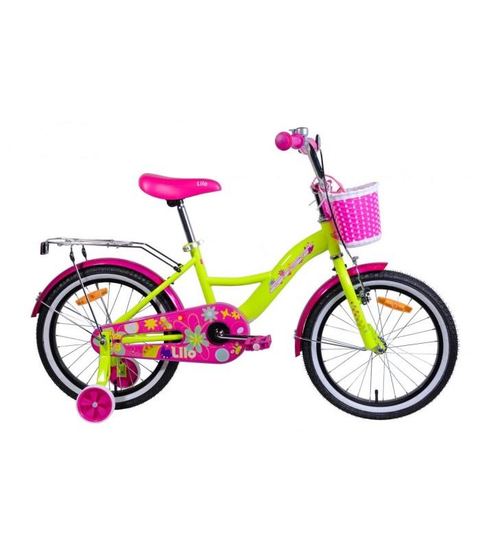 Велосипед Aist Lilo 18 (желтый)