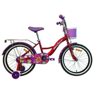 Велосипед Aist Lilo 20 (красный)