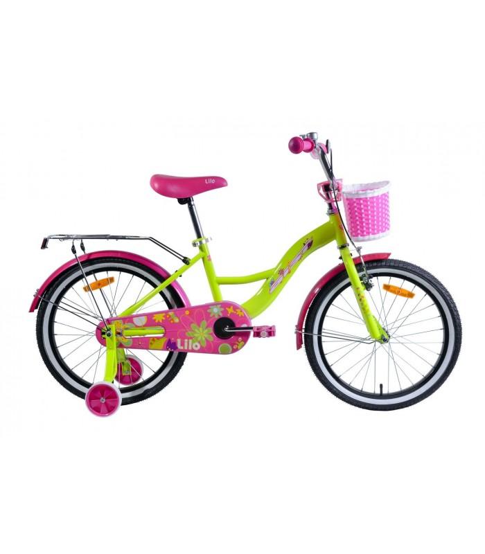 Велосипед Aist Lilo 20 (желтый)