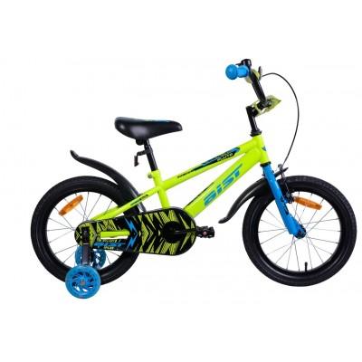 Велосипед Aist Pluto 16 (желтый)