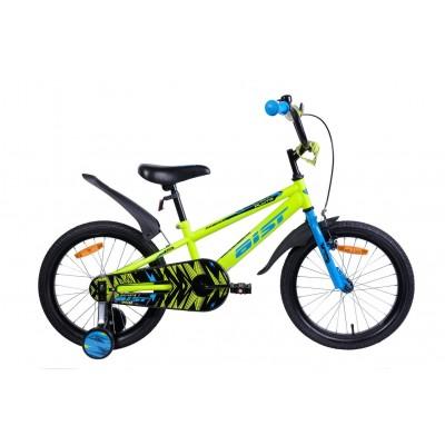 Велосипед Aist Pluto 18 (желтый, 2019)
