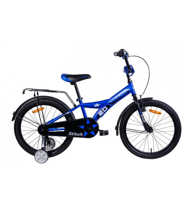 Велосипед Aist Stitch 20 (синий, 2019)