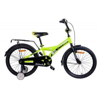 Велосипед Aist Stitch 20 (желтый, 2019)