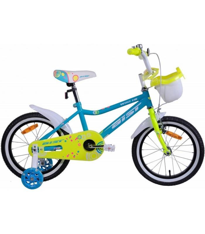 Велосипед Aist Wiki 16 (голубой, 2019)