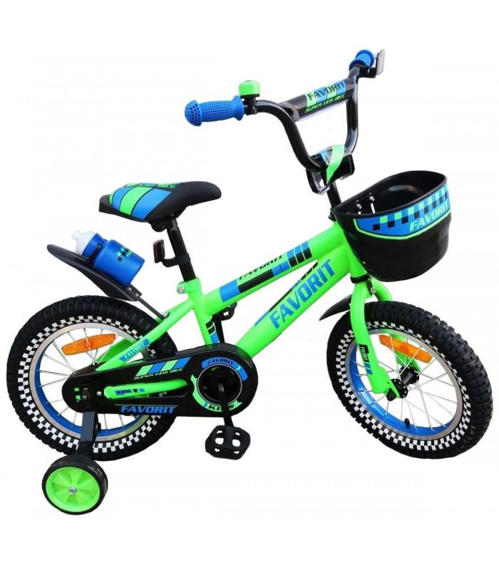 Велосипед Favorit 16 (зеленый)