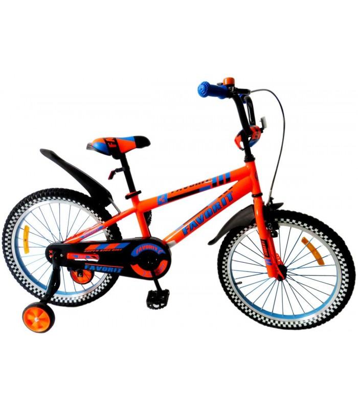 Велосипед Favorit 20 (оранжевый)