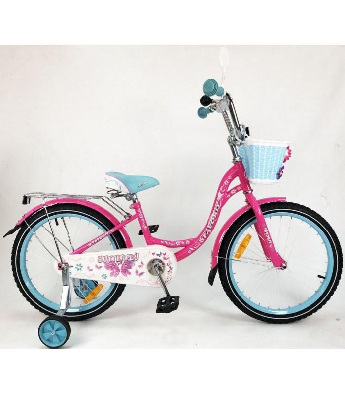 Велосипед Favorit Butterfly 16 (розовый/бирюзовый, 2019)