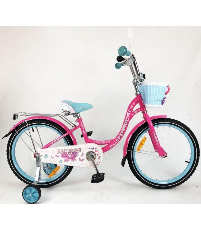 Велосипед Favorit Butterfly 20 (розовый/бирюзовый, 2019)