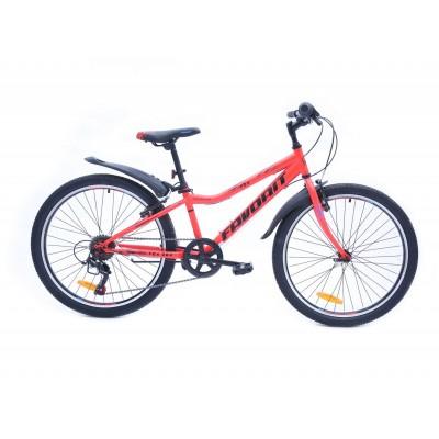 Велосипед Favorit Fox 24 V (красный, 2019)