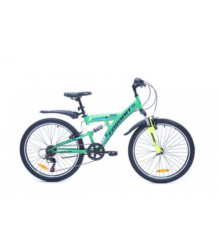Велосипед Favorit Jumper 24 V (зеленый, 2019)