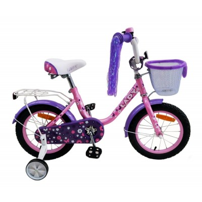 Велосипед Favorit LAD-14 (розовый/фиолетовый)