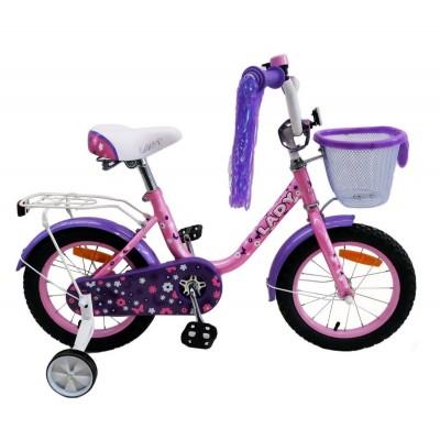 Велосипед Favorit LAD-16 (розовый/фиолетовый)