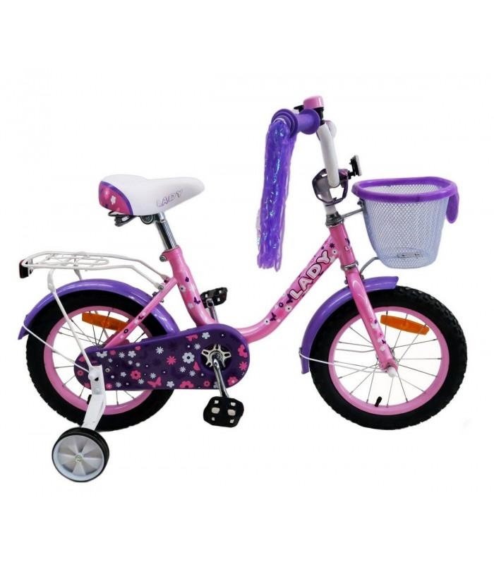 Велосипед Favorit LAD-18 (розовый/фиолетовый)