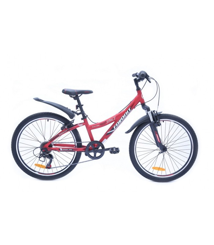 Велосипед Favorit Space 24 V (красный, 2019)
