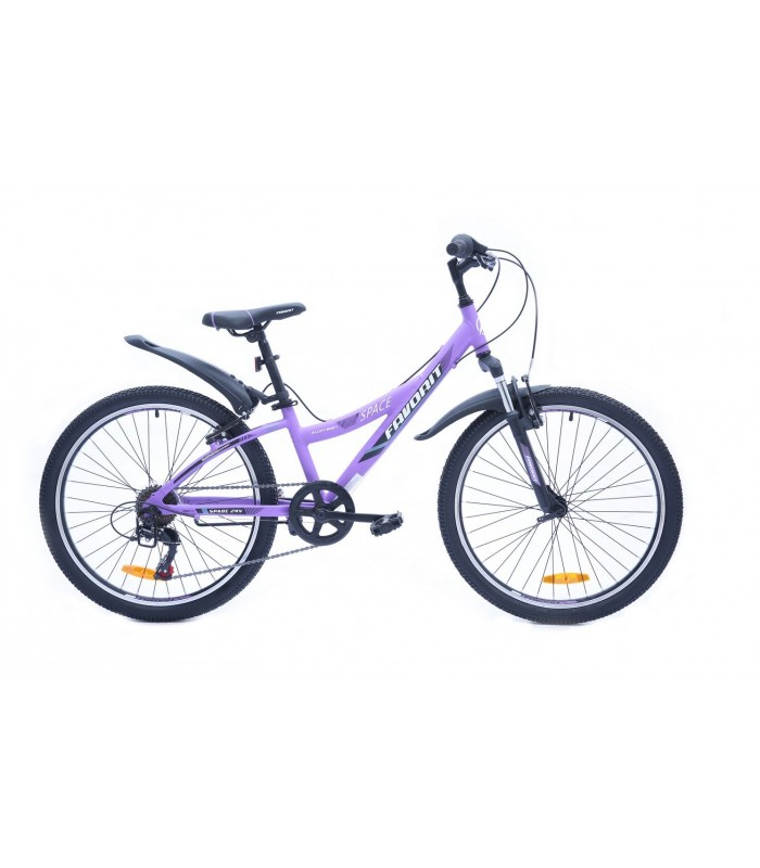 Велосипед Favorit Space 24 V (сиреневый, 2019)