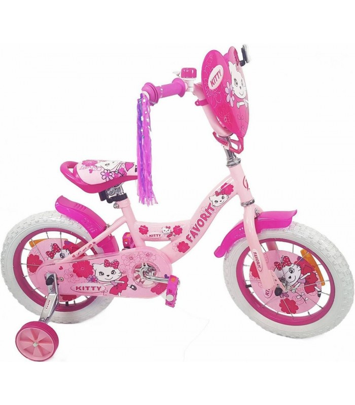 Велосипед Favorit Kitty 18 (розовый, 2019)