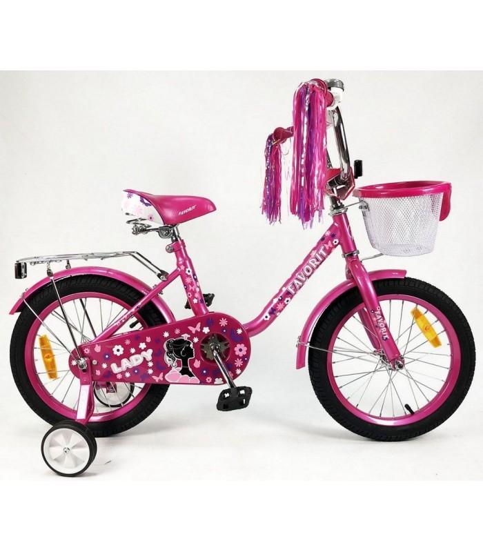 Велосипед Favorit Lady 14 (розовый, 2019)