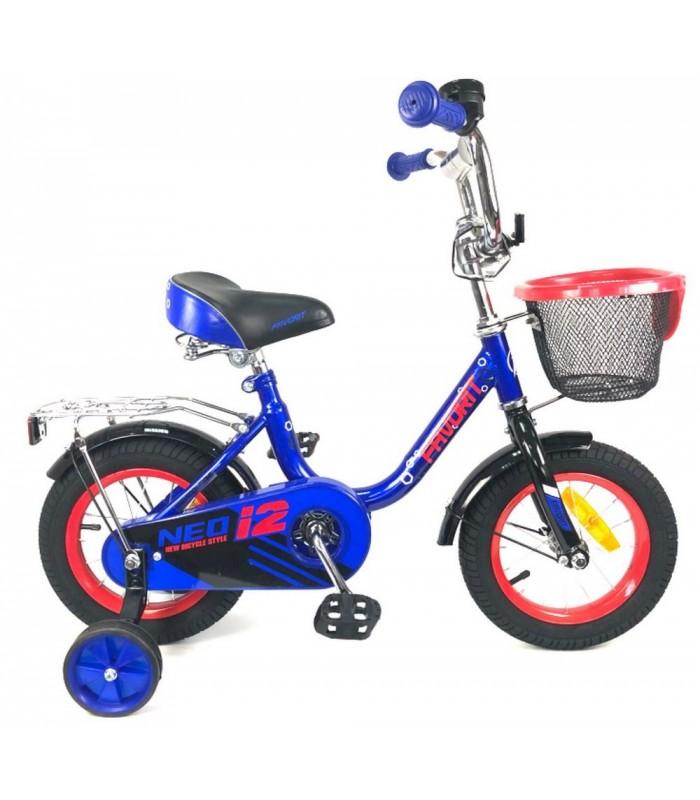 Велосипед Favorit Neo 12 (синий, 2019)