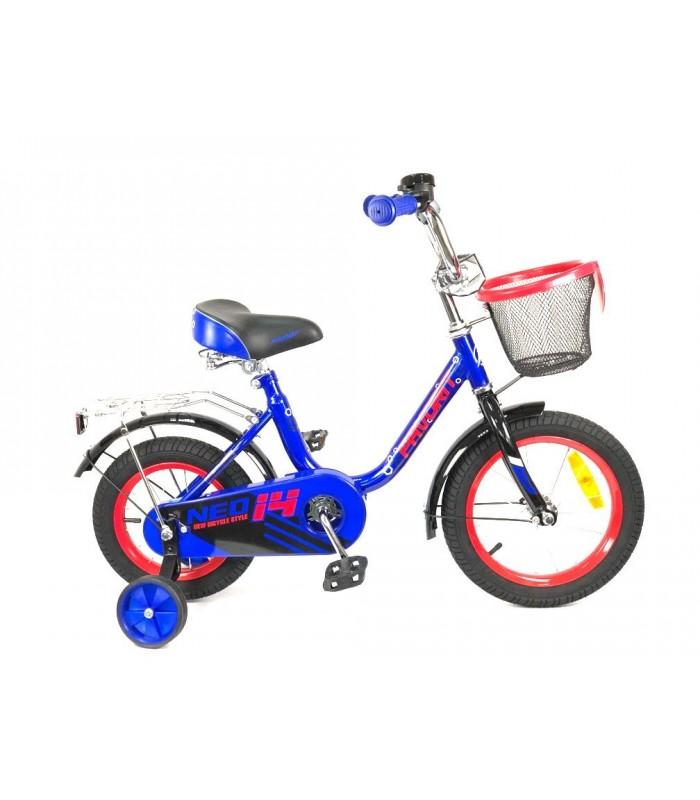 Велосипед Favorit Neo 14 (синий, 2019)