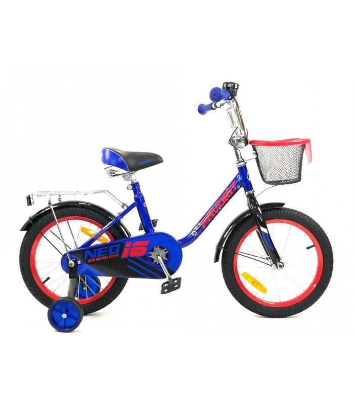 Велосипед Favorit Neo 16 (синий, 2019)