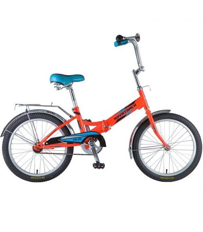 Велосипед Novatrack FS20 20 (оранжевый, 2019)