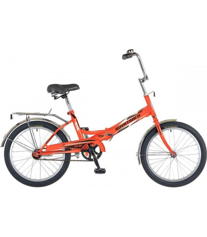 Велосипед Novatrack FS30 20 (оранжевый, 2018)