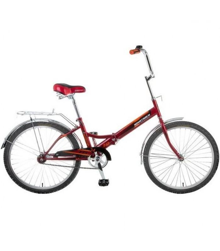 Велосипед Novatrack TG24 24 (красный, 2019)