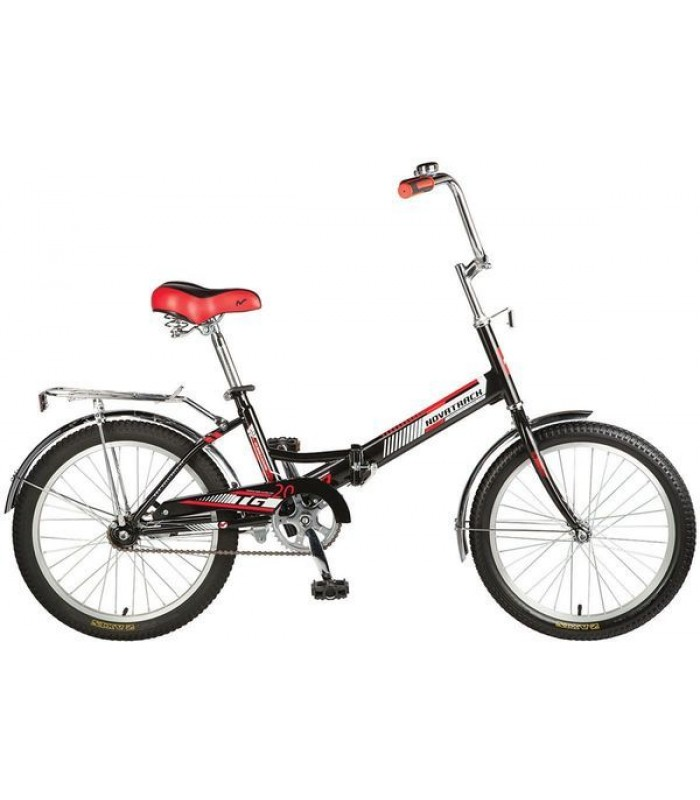 Велосипед Novatrack TG-30 20 (черный)