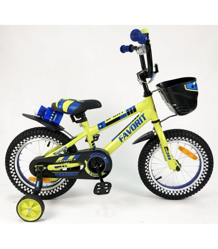 Велосипед Favorit Sport 14 (желтый, 2019)