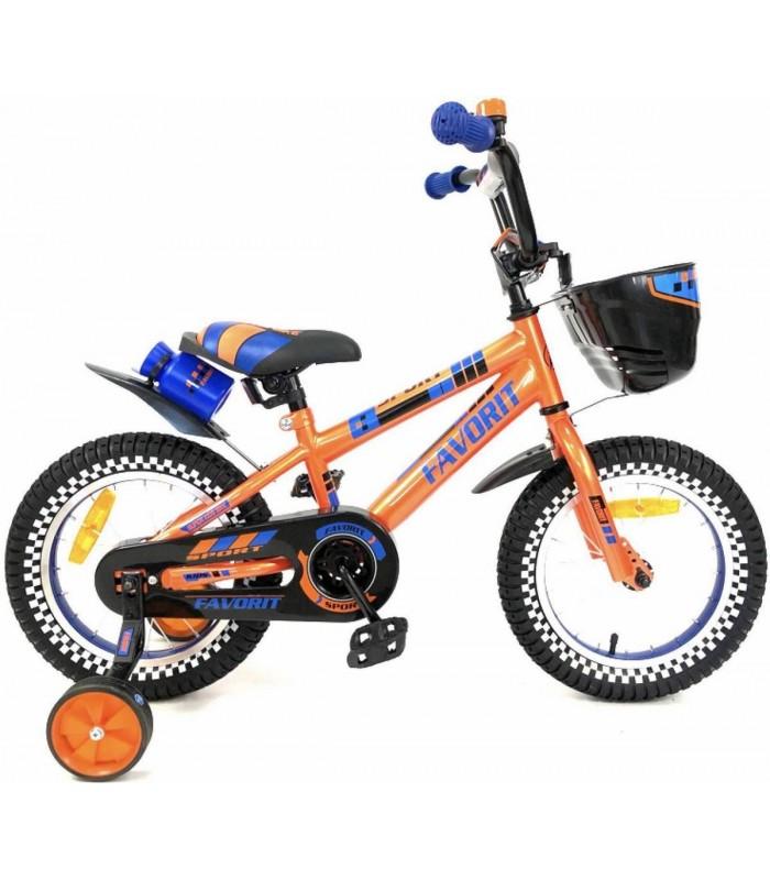 Велосипед Favorit Sport 14 (оранжевый, 2019)