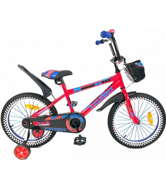 Велосипед Favorit Sport 18 (красный, 2019)
