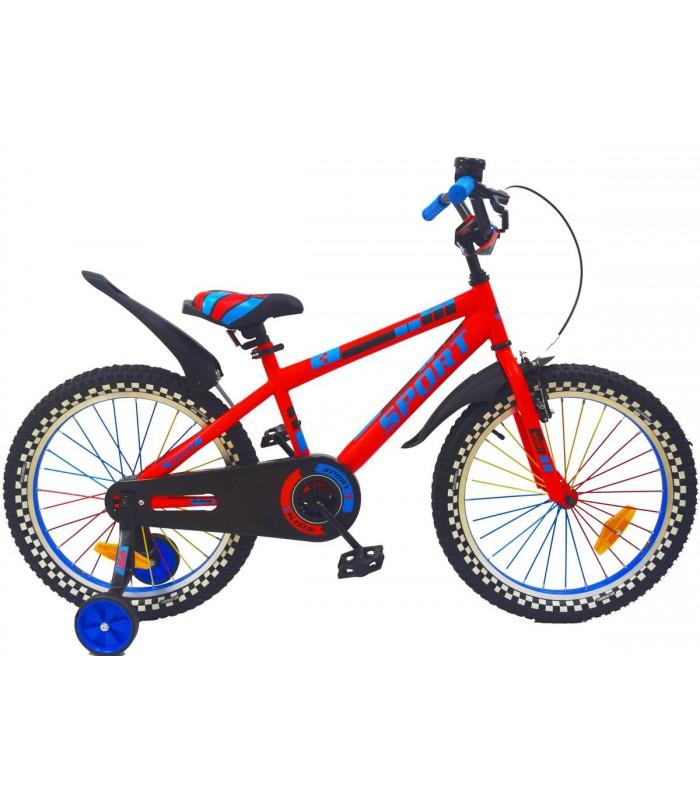 Велосипед Tornado New Sport 20 (красный)