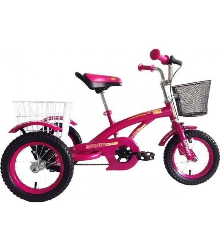 Велосипед Tornado Sport Chain 12 (малиновый)