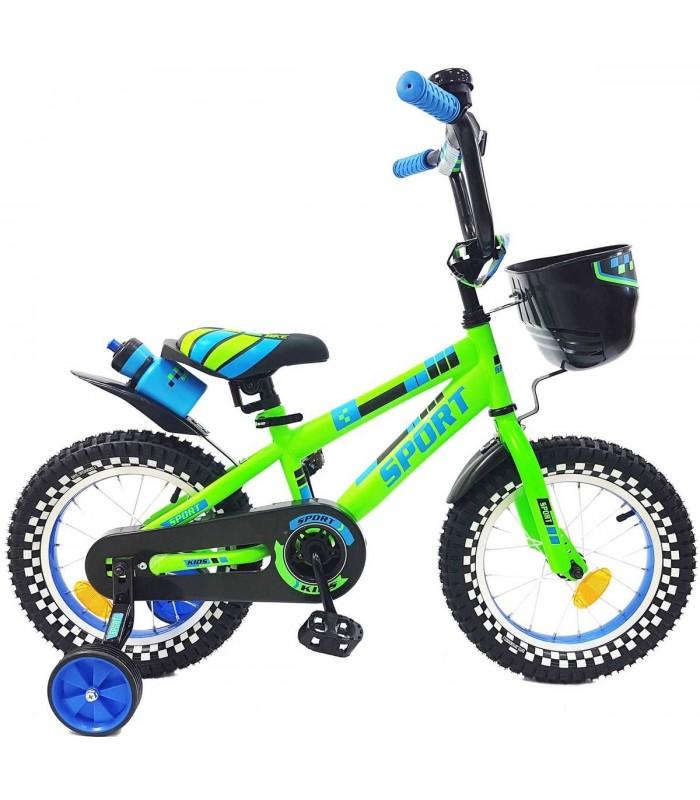 Велосипед Favorit New Sport 14 (зеленый)